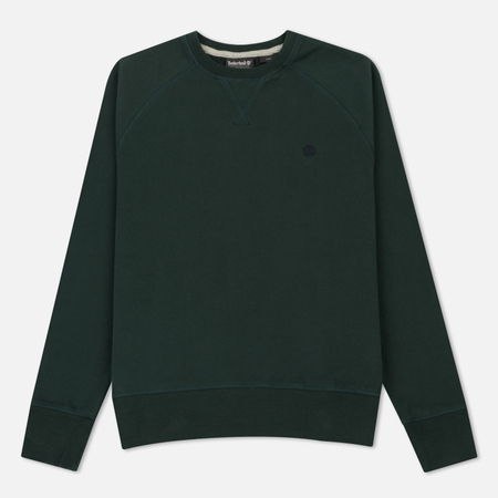 Мужская толстовка Timberland Crew Neck Exeter Small Logo Green Gables