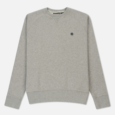 Мужская толстовка Timberland Crew Neck Exeter Small Logo Medium Grey Heather