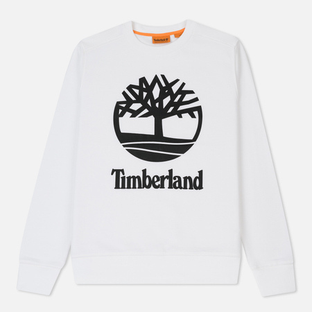 Мужская толстовка Timberland Crew Sweat W Stacked White