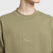 Мужская толстовка Timberland Embroidered Tree Logo Olive фото- 2