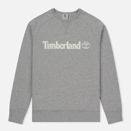 Мужская толстовка Timberland Exeter River Branded Logo Medium Grey Heather