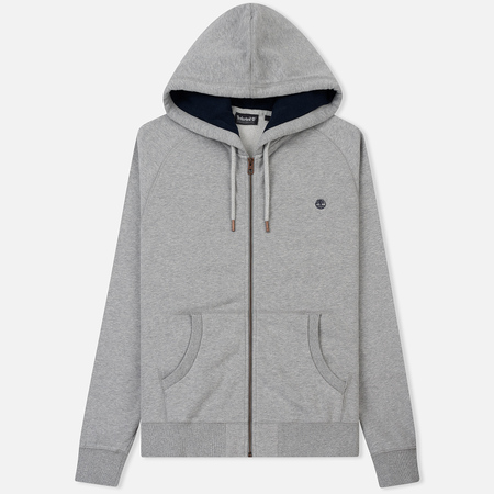 Мужская толстовка Timberland Exeter River Full Zip Hoodie Grey