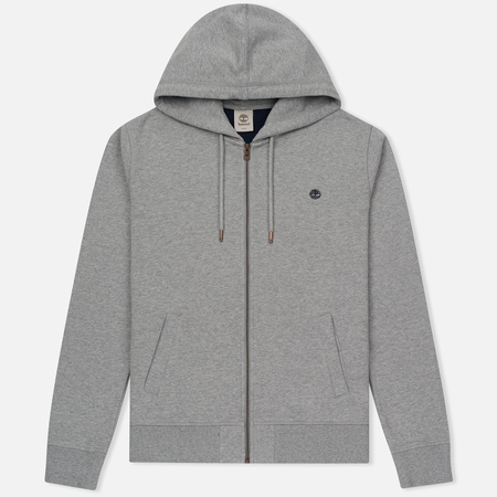 Мужская толстовка Timberland Exeter River Zip-Up Hoodie Medium Grey Heather