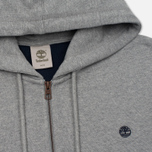 Мужская толстовка Timberland Exeter River Zip-Up Hoodie Medium Grey Heather фото- 1