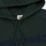 Мужская толстовка Timberland Letter Logo Hoody Darkest Spruce фото- 1