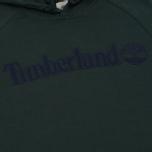 Мужская толстовка Timberland Letter Logo Hoody Darkest Spruce фото- 2