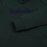 Мужская толстовка Timberland Letter Logo Hoody Darkest Spruce фото- 4
