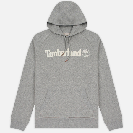 Мужская толстовка Timberland Letter Logo Hoody Medium Grey Heather