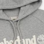Мужская толстовка Timberland Letter Logo Hoody Medium Grey Heather фото- 1