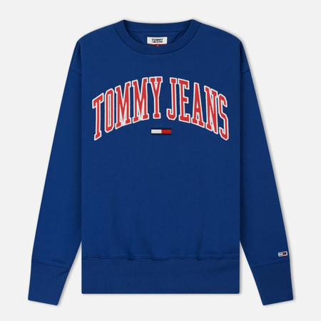 Мужская толстовка Tommy Jeans Clean Collegiate Crew Limoges