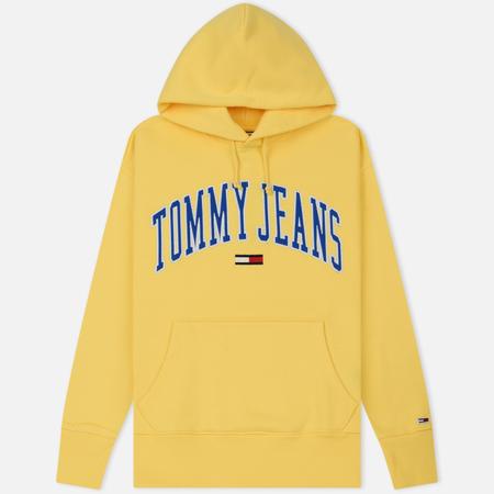 Мужская толстовка Tommy Jeans Clean Collegiate Hoodie Aspen Gold