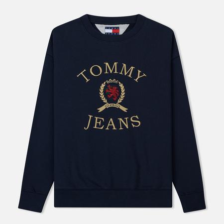 Мужская толстовка Tommy Jeans Crest Crew Dark Sapphire