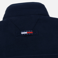 Мужская толстовка Tommy Jeans Flag Polar Fleece Navy Blazer/Multi фото- 6
