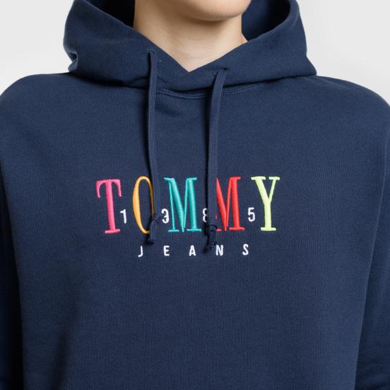 Мужская толстовка Tommy Jeans Graphic Hoodie 1985 Black Iris