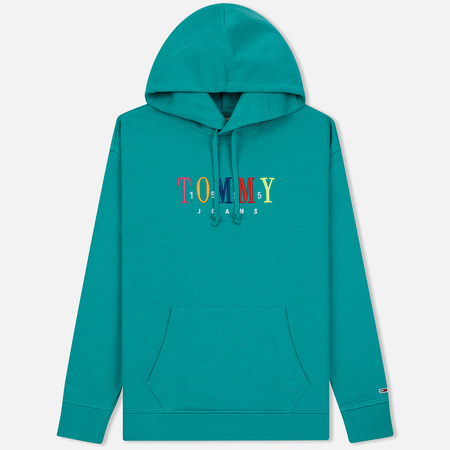 Мужская толстовка Tommy Jeans Graphic Hoodie 1985 Dynasty Green