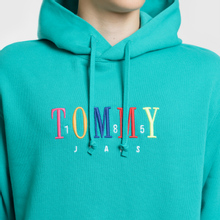 Мужская толстовка Tommy Jeans Graphic Hoodie 1985 Dynasty Green фото- 3