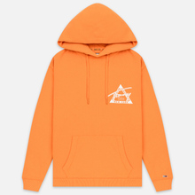 Мужская толстовка Tommy Jeans Graphic Washed Hoodie Russet Orange фото- 0