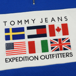 Мужская толстовка Tommy Jeans Half-Zip Expedition 6.0 Surf The Web фото- 3