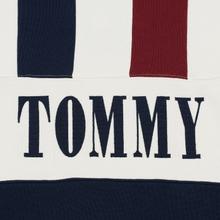Мужская толстовка Tommy Jeans Heritage Stripe Crew Neck Navy Blazer/Multi фото- 2