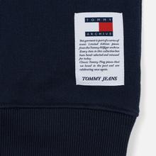 Мужская толстовка Tommy Jeans Heritage Stripe Crew Neck Navy Blazer/Multi фото- 3