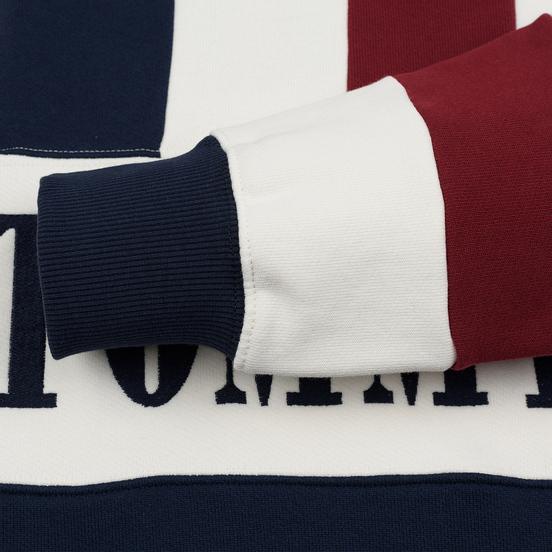 Мужская толстовка Tommy Jeans Heritage Stripe Crew Neck Navy Blazer/Multi