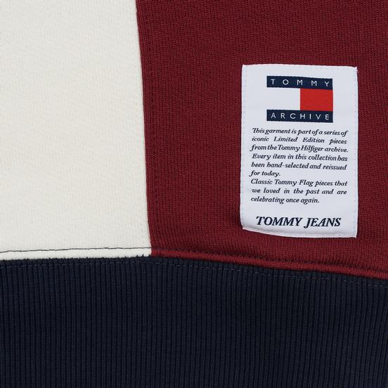 Мужская толстовка Tommy Jeans Heritage Stripe Hoodie Navy Blazer
