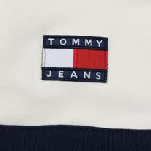Мужская толстовка Tommy Jeans Heritage Stripe Hoodie Navy Blazer фото- 5