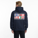 Мужская толстовка Tommy Jeans Hoodie Expedition 6.0 Dark Sapphire фото- 7