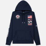 Мужская толстовка Tommy Jeans Hoodie Expedition 6.0 Dark Sapphire фото- 0