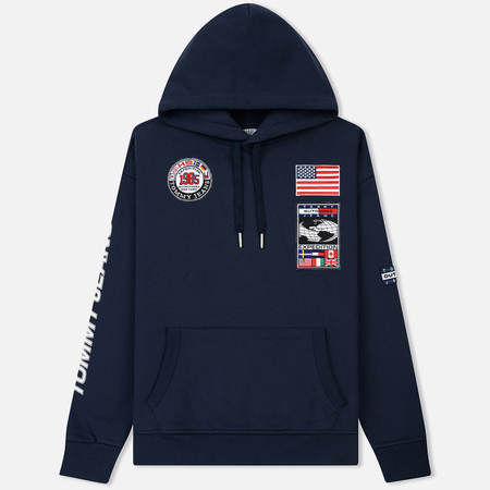 Мужская толстовка Tommy Jeans Hoodie Expedition 6.0 Dark Sapphire