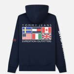 Мужская толстовка Tommy Jeans Hoodie Expedition 6.0 Dark Sapphire фото- 5