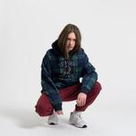 Мужская толстовка Tommy Jeans Crest Plaid Hoodie Check Dark Sapphire/Multi фото- 1