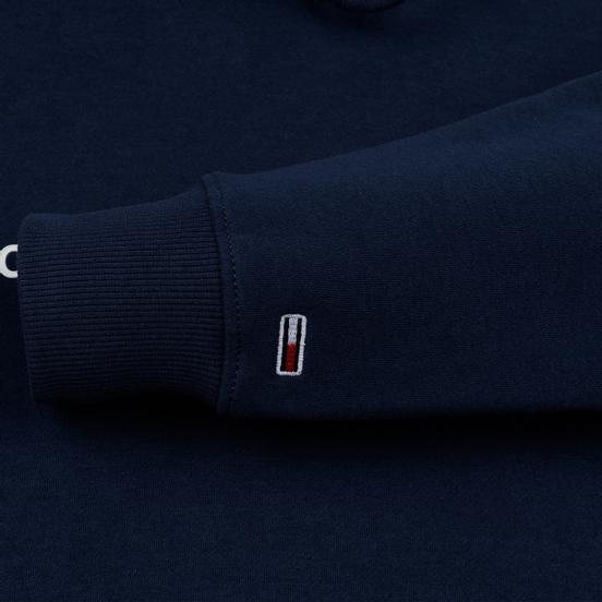 Мужская толстовка Tommy Jeans Straight Small Logo Hoodie Slim Fit Black Iris
