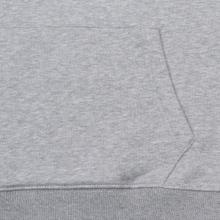 Мужская толстовка Tommy Jeans Straight Small Logo Hoodie Slim Fit Light Grey Heather фото- 4