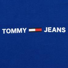 Мужская толстовка Tommy Jeans Straight Small Logo Hoodie Slim Fit Surf The Web фото- 2