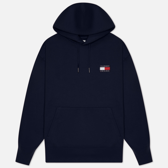 Мужская толстовка Tommy Jeans Tommy Badge Hoodie Black Iris