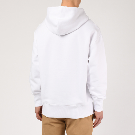 Мужская толстовка Tommy Jeans Tommy Badge Hoodie Classic White