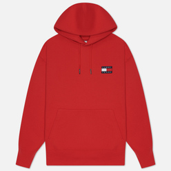 Мужская толстовка Tommy Jeans Tommy Badge Hoodie Deep Crimson