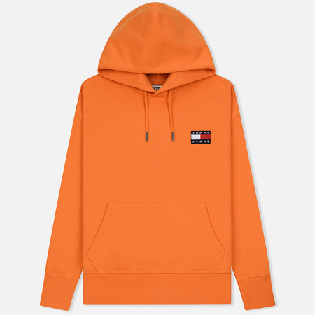 Мужская толстовка Tommy Jeans Tommy Badge Hoodie Russet Orange