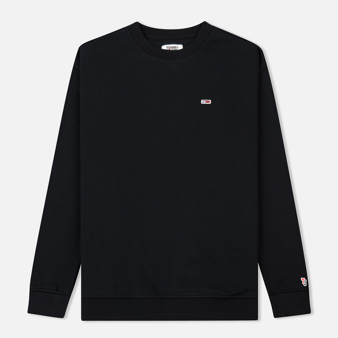 Мужская толстовка Tommy Jeans Tommy Classic Crew Black