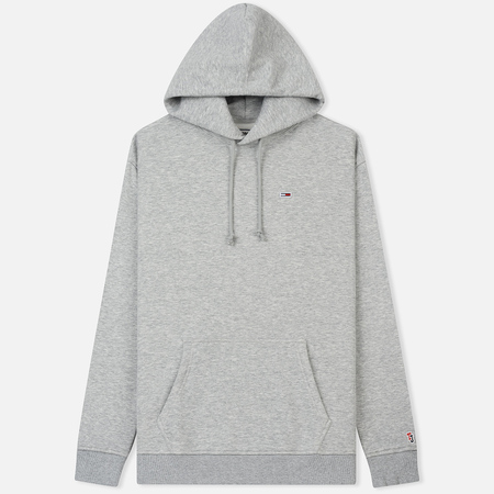 Мужская толстовка Tommy Jeans Tommy Classic Hoodie Light Grey Heather