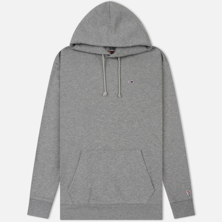 Мужская толстовка Tommy Jeans Tommy Classics Hoodie Light Grey Heather