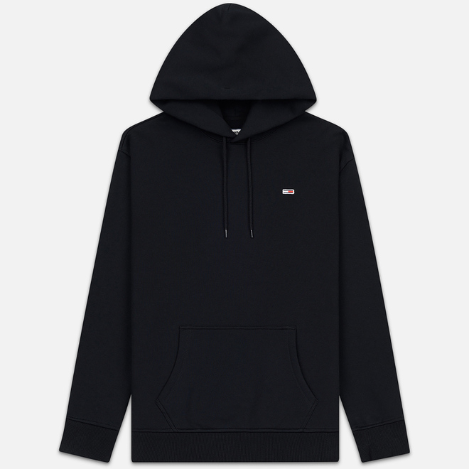 Мужская толстовка Tommy Jeans Tommy Classics Hoodie Relaxed Fit Black
