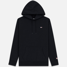 Мужская толстовка Tommy Jeans Tommy Classics Hoodie Relaxed Fit Black фото- 0