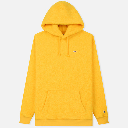Мужская толстовка Tommy Jeans Tommy Classics Polar Hoodie Spectra Yellow