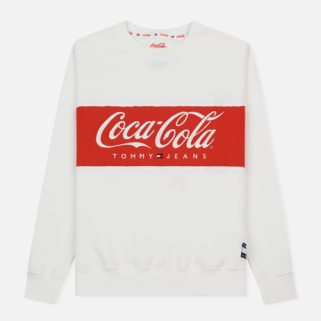 Мужская толстовка Tommy Jeans x Coca-Cola Logo Bright White