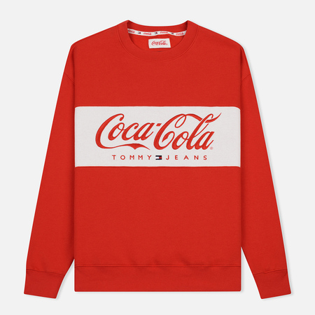 Мужская толстовка Tommy Jeans x Coca-Cola Logo Red