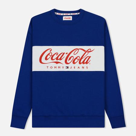 Мужская толстовка Tommy Jeans x Coca-Cola Logo Sodalite Blue
