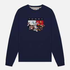 Мужская толстовка Tommy Jeans x Looney Tunes Crew Neck Dark Ink