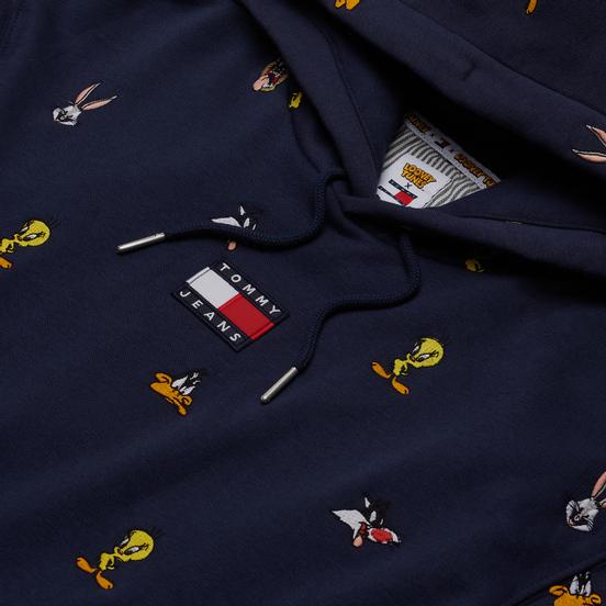Мужская толстовка Tommy Jeans x Looney Tunes Hoodie Dark Ink
